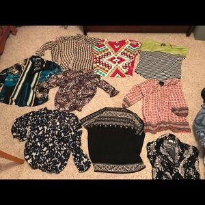 Spring blouse bundle